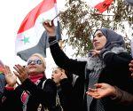 SYRIA QUNEITRA RALLY