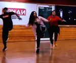 Alaya F gives glimpse of her first dance rehearsal