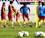 PORTUGAL ALBUFEIRA SOCCER ALGARVE CUP CHN TRAINING SESSION