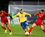 PORTUGAL ALBUFEIRA FOOTBALL ALGARVE CUP CHINA SWEDEN