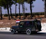 SYRIA ALEPPO MANBIJ ARMY DEPLOYMENT