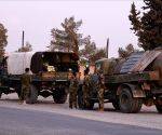 SYRIA ALEPPO MANBIJ ARMY