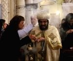EGYPT ALEXANDRIA EASTER EVE MASS