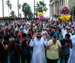 EGYPT ALEXANDRIA EID AL FITR PRAYERS