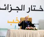 ALGERIA-ALGIERS-NEWLY ELECTED PRESIDENT-PRESS CONFERENCE