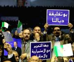 ALGERIA ALGIERS MEETING PRESIDENTIAL ELECTION