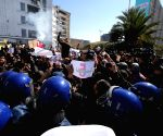 ALGERIA ALGIERS PROTEST PRESIDENT BOUTEFLIKA THE 5TH TERM