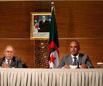 ALGERIA ALGIERS PM FM PRESS CONFERENCE