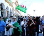 ALGERIA ALGIERS PROTEST
