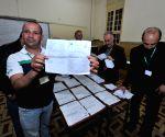 ALGERIA ALGIERS PARLIAMENTARY ELECTIONS