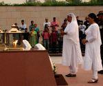 Air Chief Dhanoa pays homage National War Memorial