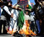All India Anti-Terrorist Front's demonstration
