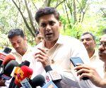 AIHALTUCC chief convener Suryadevara Chandrashekar talks to press