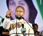 Asaduddin Owaisi addresses public rally in Nagpur ahead of Maharashtra polls