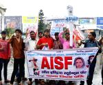 AISF's protest