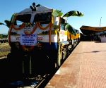 Broad gauge passenger train from Silchar flagged off