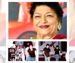 Free Photo: Allu Arjun 'bows down' to his 1st choreographer Saroj Khan