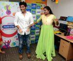 Allu Sirish, Lavanya Tripati Promoting Srirastu Subhamastu Movie at Radio Mirchi