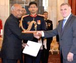 Ambassador-designate of Bosnia and Herzegovina presents his credentials to President Kovind