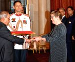 Finnish envoy presents credentials to President Mukherjee