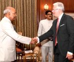 Grand Duchy of Luxembourg Ambassador presents his credentials to President Kovind