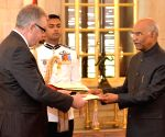 Ireland Ambassador Designate presents credentials to President Kovind