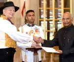 Norway Ambassador Designate presents credentials to President Kovind