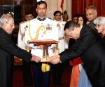 Ambassadors presents their credentials to President Mukherjee