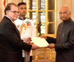 Costa Rica Ambassador Designate presents credentials to President Kovind
