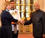 Estonia's Ambassador Designate presents credentials to President Kovind