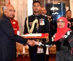 Maldives Ambassador-designate presents credentials to President Kovind