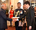 Turkmenistan's Ambassador-designate presents credentials to President Kovind
