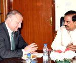 Ambassador of Georgia meets Mahesh Sharma