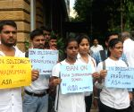 Silent protest held for Pradyuman