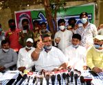 Ambulance with Rudy name used for carrying sand, alleges Pappu Yadav