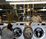 LG completes its first U.S. washing machine plant