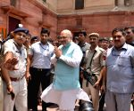 Amit Shah arrives to take charge as Home Minister