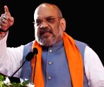 Congress, Rahul 'playing politics' on J&K, says Shah