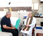 Amit Shah meets ailing West Bengal Governor at AIIMS
