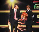 """Amitabh Bachchan at """"iifa"""" press meet."""