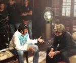 Amitabh Bachchan meets Balakrishna in Ramoji Film City