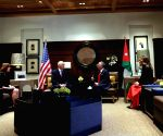 JORDAN AMMAN KING U.S. VICE PRESIDENT MEETING