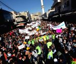 Amman (Jerusalem): Jordanians protest against Israel's recent entry restrictions to the Old City