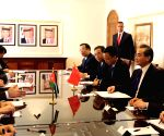 JORDAN AMMAN CHINESE FOREIGN MINISTER MEETING