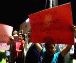 JORDAN AMMAN PROTEST U.S. VISIT