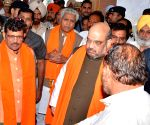Amit Shah at Ram Tirath Temple