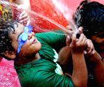 Children beat the heat in Amritsar
