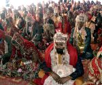 Punjab Minister during a mass marriage programme