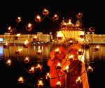 Fireworks at Golden Temple - Guru Nanak Jayanti
