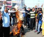 Hindu Sangharsh Sena demonstration